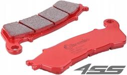 Predné brzdové platničky pre modely s ABS Brembo 07HO57SA Sinter (Cesta)