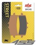 Predné brzdové platničky SBS 841HS Sinter (Cesta)