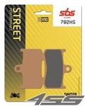 Predné brzdové platničky SBS 782HS Sinter (Cesta)