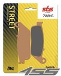Predné brzdové platničky SBS 700HS Sinter (Cesta)
