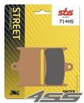 Predné brzdové platničky SBS 714HS Sinter (Cesta)