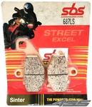 Zadné brzdové platničky SBS 687LS Sinter (Cesta)