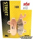Zadné brzdové platničky SBS 611LS Sinter (Cesta)
