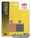 Zadné brzdové platničky SBS 519LS Sinter (Cesta)