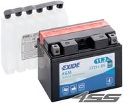 Motobatéria Exide ETZ14-BS (AGM)