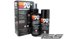 Čistiaca sada vzduchového filtra KN (čistič + olej)