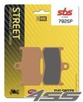 Predné brzdové platničky SBS 782SP Sinter (Cesta - ostrá zmes)