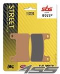 Predné brzdové platničky SBS 806SP Sinter (Cesta - ostrá zmes)